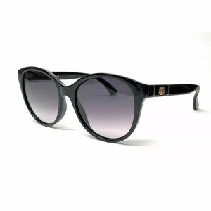 Gucci Women's Black Grey Gradient Sunglasses!